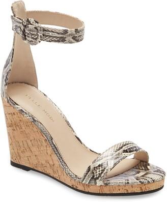 Pelle Moda Nisha Wedge Sandal