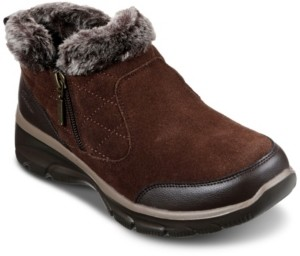Skechers Women's Relaxed Fit: Easy Going - Girl Crush Ankle Boots from Finish Line