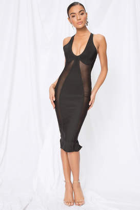 superdown Nicole Keyhole Bodycon Dress