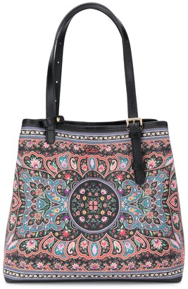 Etro Floral-Print Tote