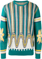 Nuur patterned sweater - men - Cotton - 50