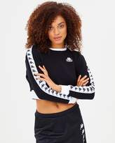 Kappa Authentic Ays Crop Crew Neck