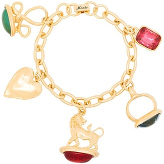 MONDO MONDO Multiple-Charm Chain Bracelet