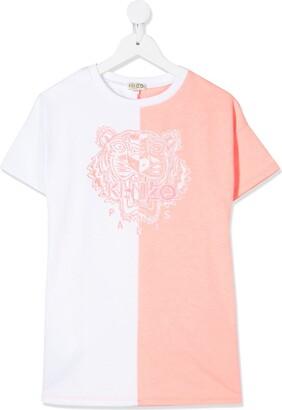 Kenzo two-tone T-shirt dress