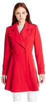 Trina Turk Women's Petite Phoebe Trench Coat