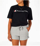 Champion Women's Heritage HBR T-Shirt, Black