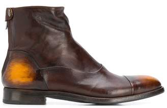 Alberto Fasciani tinted ankle boots