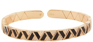 Alessa Rose Gold and Diamond Elixir Continuity Binary Bracelet
