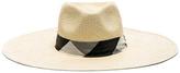 Rag & Bone Wide Brim Panama Hat in Neutrals.