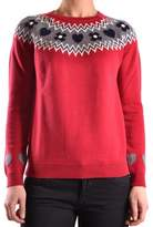 red cotton sweater - ShopStyle