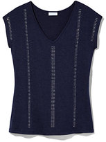 New York & Co. Outlet Exclusive - Studded V-Neck T-Shirt