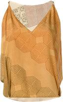 Volantis G.V. Majil - embroidered blouse - women - Silk - One Size
