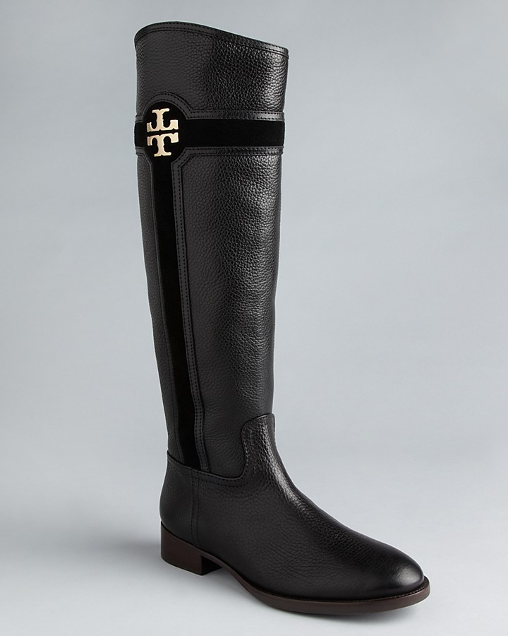 Tory Burch Flat Tall Boots - Alaina