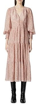 The Kooples Paisley Print Midi Dress
