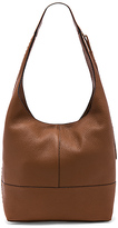 Rebecca Minkoff Unlined Slouchy Hobo With Whipstitch in Cognac.