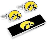 Ice University of Iowa Hawkeyes Cufflink and Money Clip Gift Set