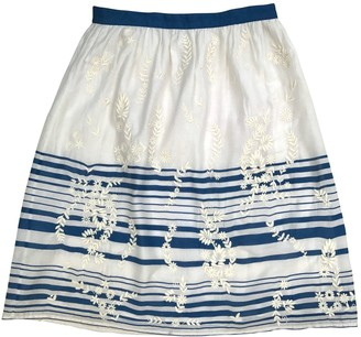 Vanessa Bruno Ecru Cotton Skirt for Women