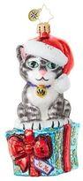 Christopher Radko Fabulous Feline Flair Figurine
