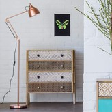 Graham and Green Witt Copper Floor Lamp