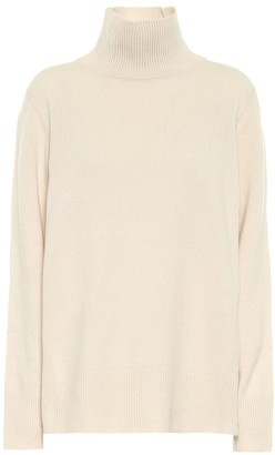The Row Milina wool-blend mockneck sweater