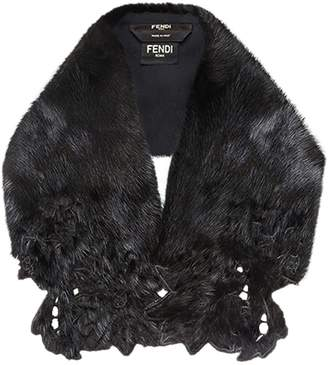 Fendi mink fur collar