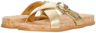 Lilly Pulitzer Bayshore Sandal (Gold Metallic) Women's Shoes