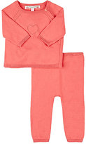 Bonpoint Cotton Sweater & Pant Set
