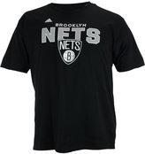 adidas Men's Short-Sleeve Brooklyn Nets Straight To The Hoop T-Shirt