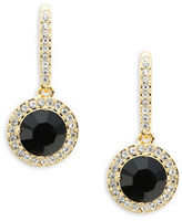 Nadri Round Pave Drop Earrings
