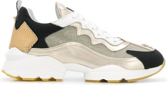 Philipp Plein Colour-Block Sneakers