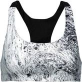 Koral Revolve printed stretch-jersey sports bra