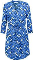 Diane von Furstenberg Freya printed silk mini dress