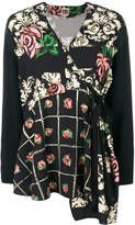 I'M Isola Marras floral tie blouse