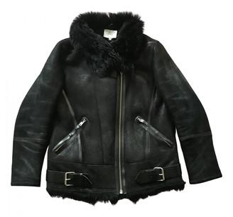IRO Fall Winter 2019 Black Shearling Coats