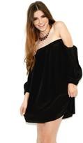 Boulee Audrey Dress in Black Silk