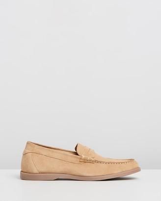 Double Oak Mills Healy Suede Loafers