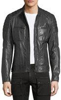 Belstaff Weybridge Leather Cafe Racer Jacket