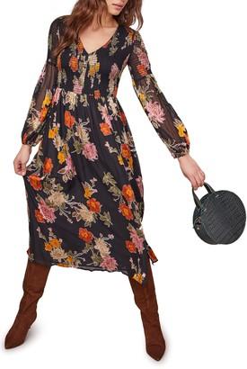 ASTR the Label Cheveonne Long Sleeve Maxi Dress