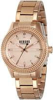 Versus By Versace Women's SOJ100015 Bayside Analog Display Quartz Gold Watch