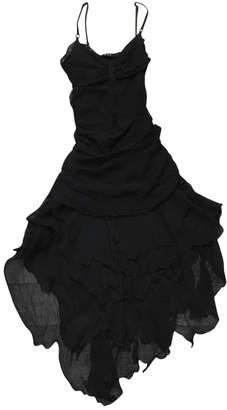 CNC Costume National Black Silk Dresses