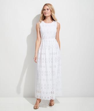 Vineyard Vines Eyelet Maxi Dress