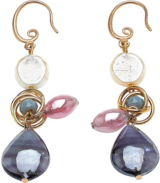 Antica Murrina Veneziana Grimani T Top Earrings