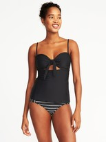 Old Navy Tie-Front Tankini Top for Women