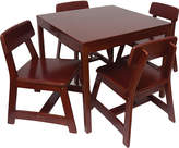 Lipper Traditional Wood Kids' Table & Chairs