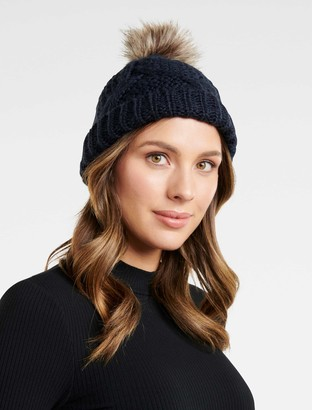 Ever New Rylie Cable Pom Toque