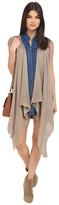 BB Dakota Jaleel Acrylic Open Stitch Long Sweater Vest