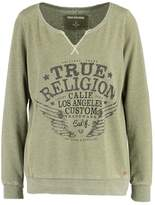 True Religion Sweatshirt dusty olive