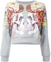 Philipp Plein Feathers sweatshirt - women - Cotton - S