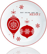 The Cellar Sentiments Be Merry Salad Plate
