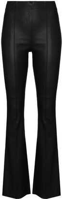 REMAIN High-Waist Flared Trousers